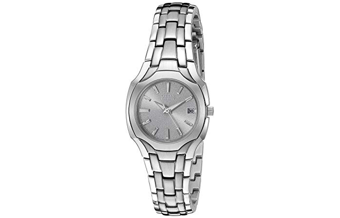 Eco-Drive Stainless Steel Watch