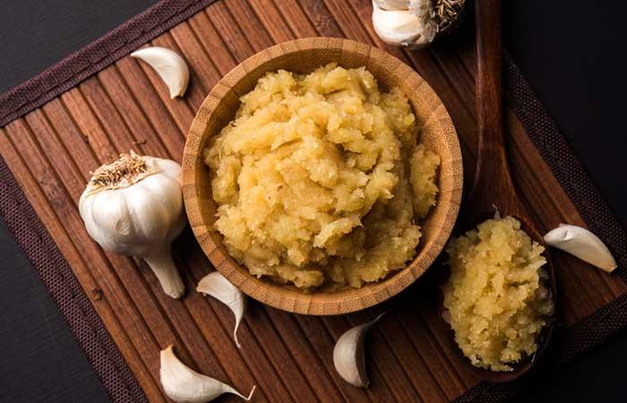 Garlic warts treatment