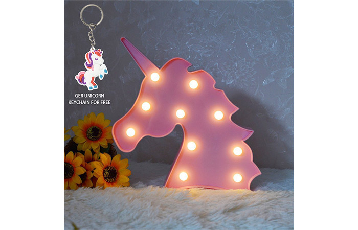 Glintee Unicorn LED Night Lamp Décor
