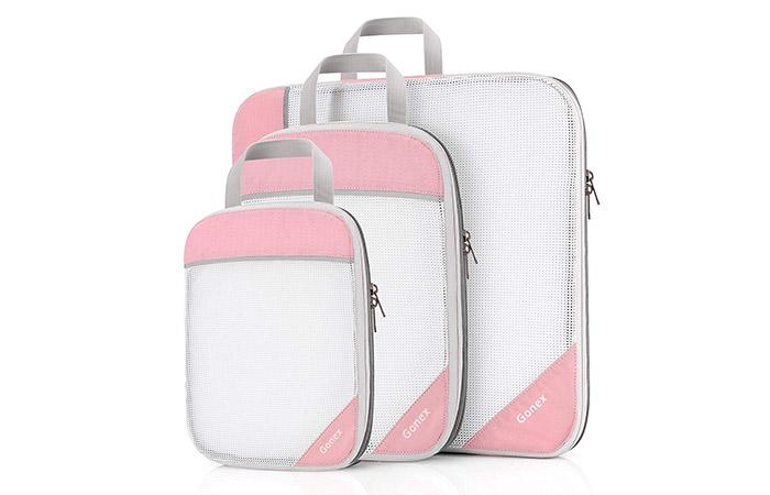 Gonex Extensible Storage Mesh Bags Organizers