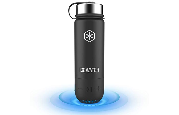 ICEWATER 3 in 1 Smart Stainless Steel Water Bottle