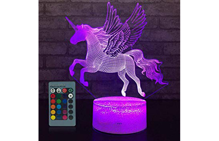 JMLLYCO Unicorn Night Light