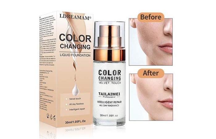 LDREAMAM Colour Changing Liquid Foundation