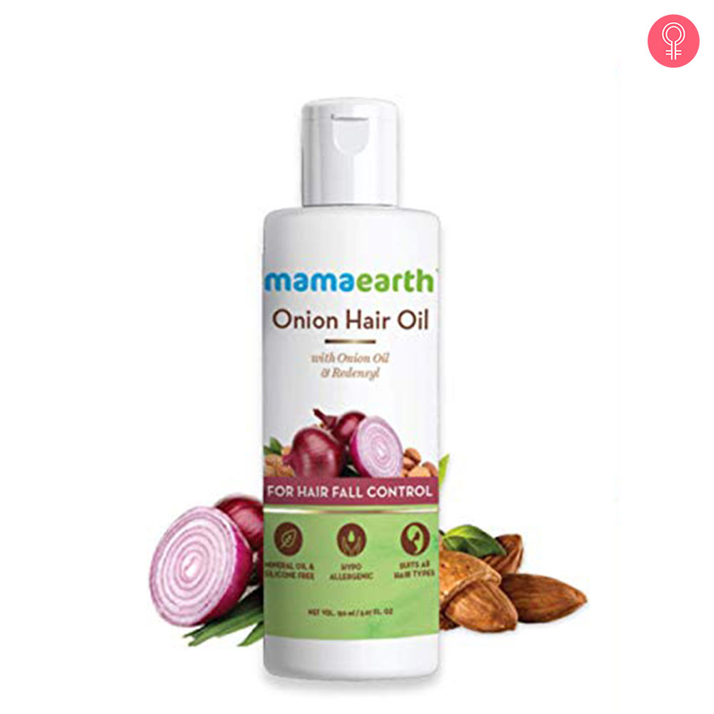 MamaEarth Onion Hair Oil
