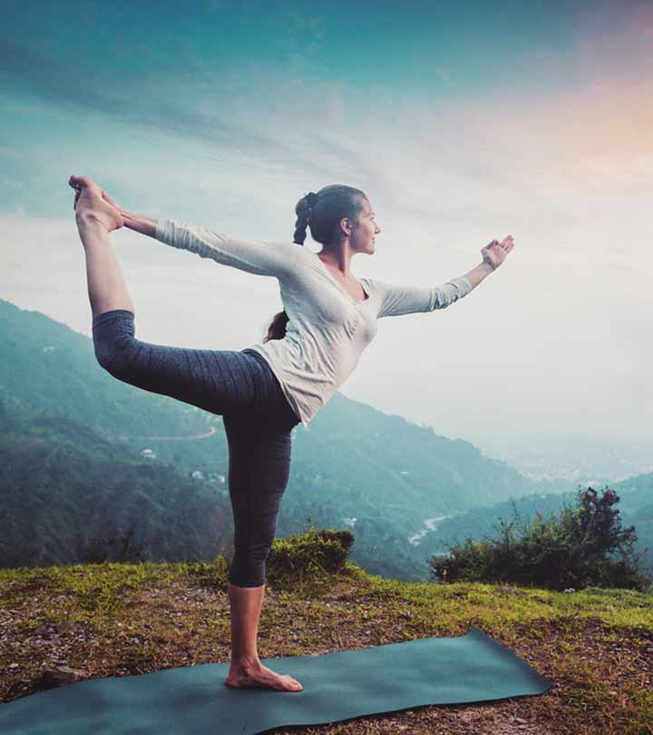 Natarajasana (Dancer Pose) Benefits in Hindi