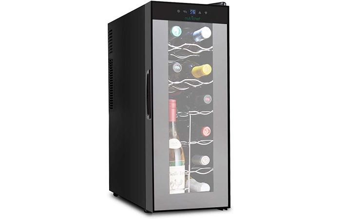 NutriChef Nutrichef Thermoelectric Wine Refrigerator