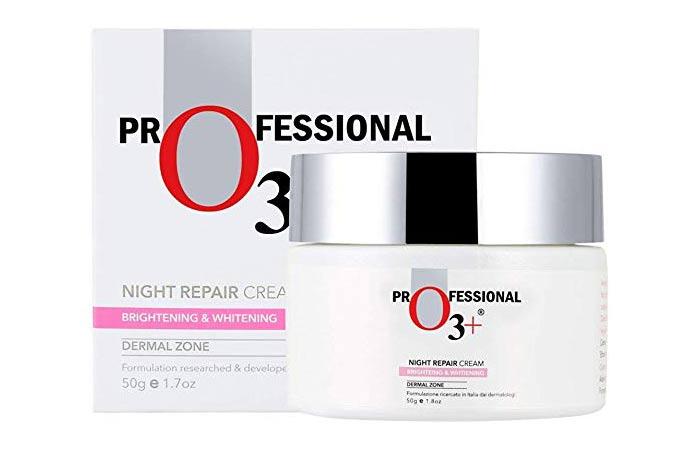 O 3+ Professional Night Repair Cream