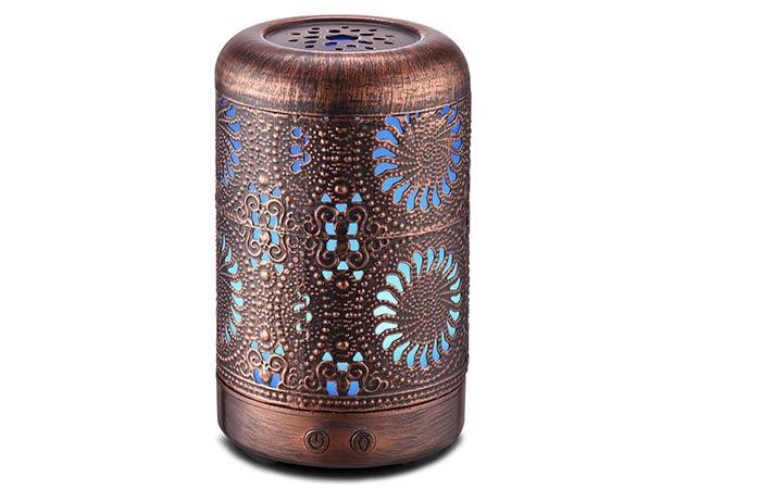 Ominihome Essential Oil Diffuser 100ml, Ultrasonic Aromatherapy Oil Diffuser Humidifier