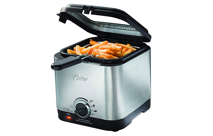 Oster CKSTDF102-SS Style Compact Deep Fryer