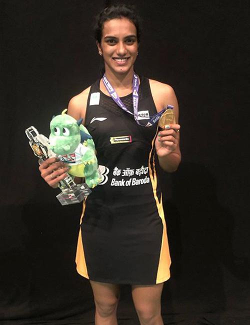 PV Sindhu Wins BWF Championships In 2019