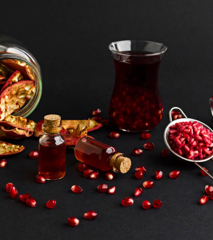 Pomegranate Seed Oil Benefits and Side Effects in Hindi