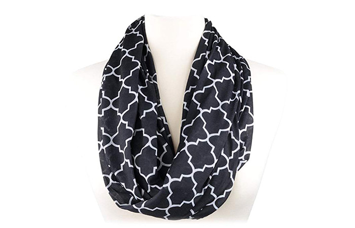 Pop Fashion Scarves With Pockets