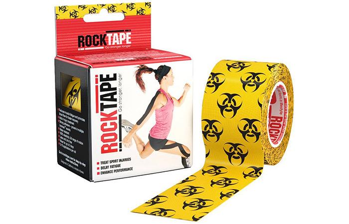 RockTape Original 2-inch Waterproof Kinesiology Tapes