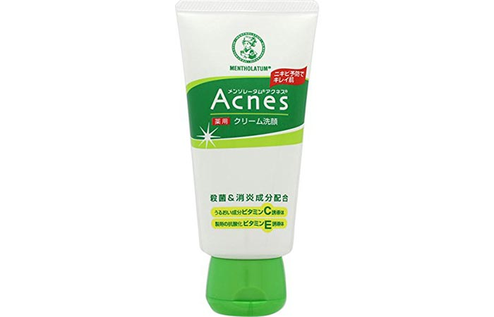 Rohto Mentholatum Acnes Facial Washing Cream
