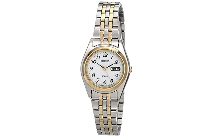 SUT116 Stainless Steel Two-Tone Watch