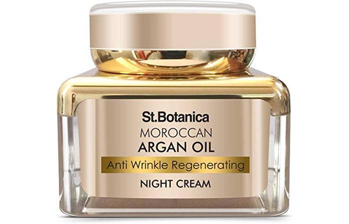 Saint Botanica Moroccan Organ Oil Anti Wrinkle Regenerating Night Cream