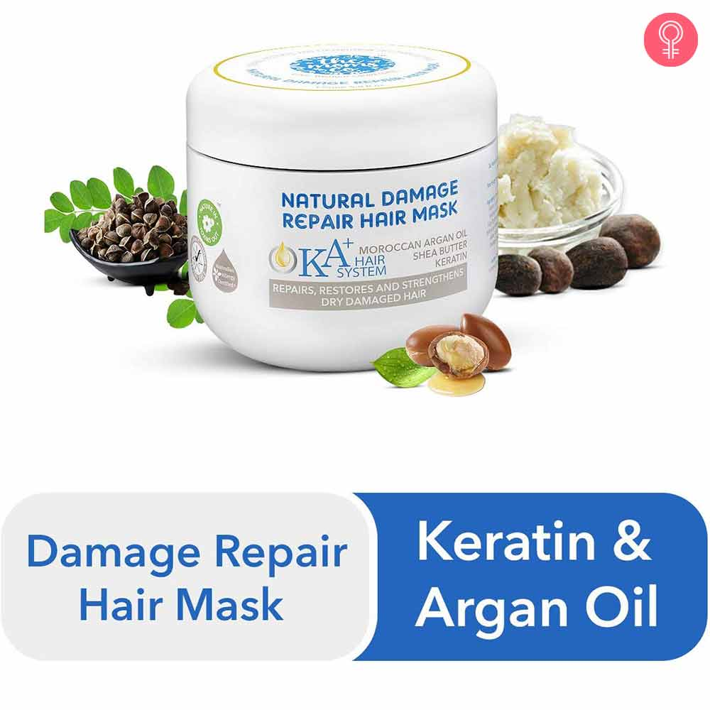 The Moms co. KA+ Natural Damage Repair Hair Mask