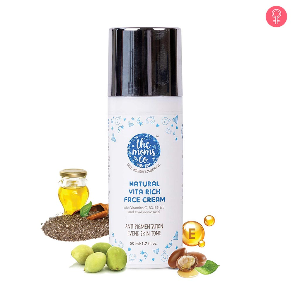 The Moms Co. Natural Vita Rich Face Cream