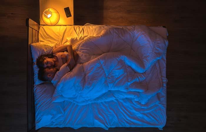 The Snuggle And Sleep