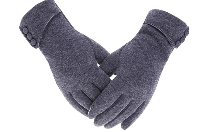 Tomily Womens Touchscreen Phone Fleece Windproof Gloves