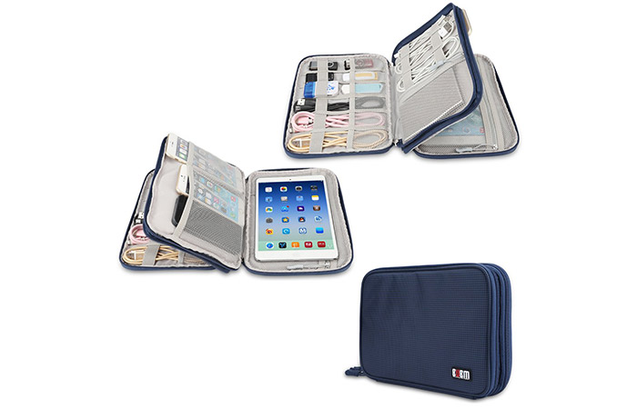 Travel Cables Cords Organizer