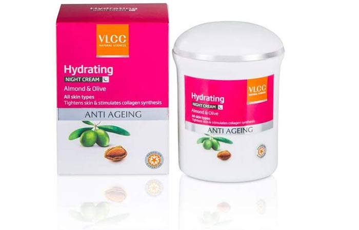 VLCC Hydrating Anti Aging Night Cream