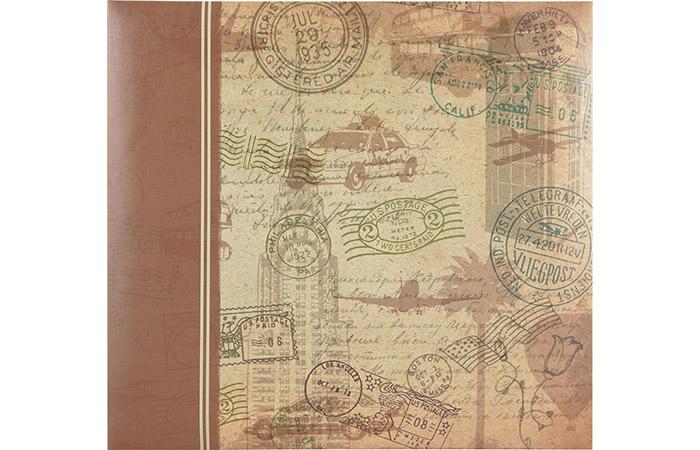 Vintage Travel Scrapbook Album