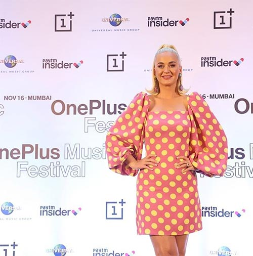 Why Is Katy Perry In India