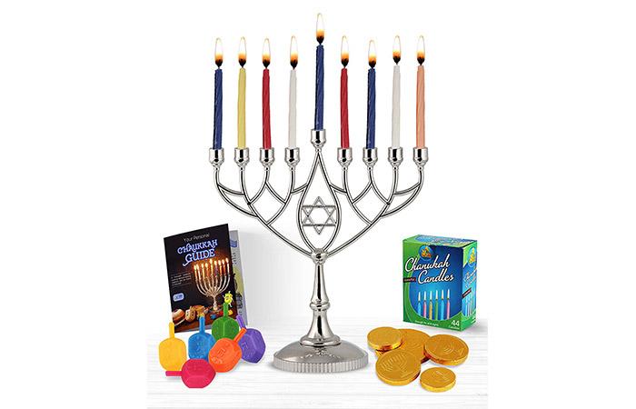 Zion Judaica Hanukkah Value Kit