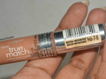 L'Oreal Paris True Match Concealer pic 4-Easy to blend.-By simmi_haswani