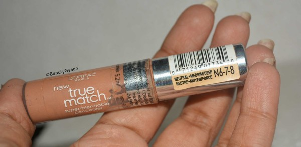 L'Oreal Paris True Match Concealer-Easy to blend.-By simmi_haswani-4