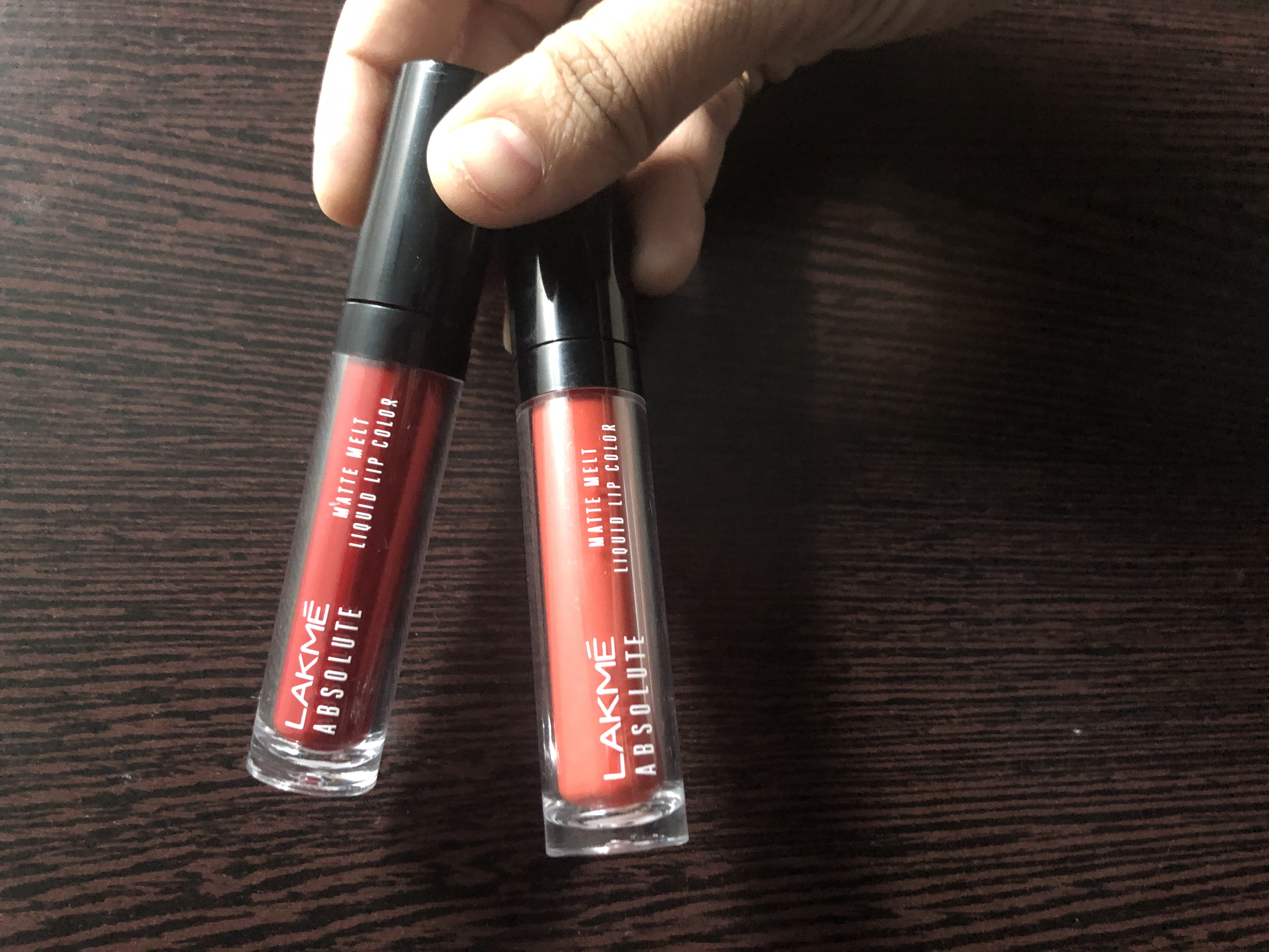 Lakme Absolute Matte Melt Liquid Lip Color-I love it..Best Range of liquid lipstick by lakme..-By divyakiran-1