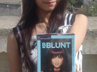 BBlunt Salon Secret High Shine Creme Hair Colour, Mahogany Reddish Brown pic 2-Leaves a good shine on hair-By khushboo18