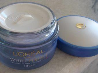L'Oreal Paris White Perfect Night Cream pic 2-Lightening effect.-By simmi_haswani