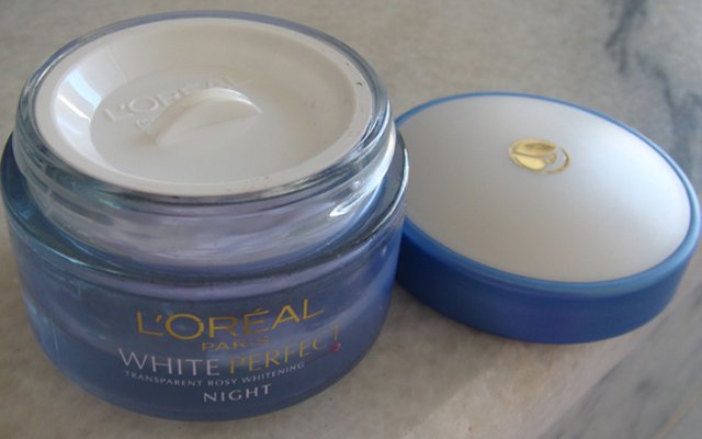 L'Oreal Paris White Perfect Night Cream-Lightening effect.-By simmi_haswani-2