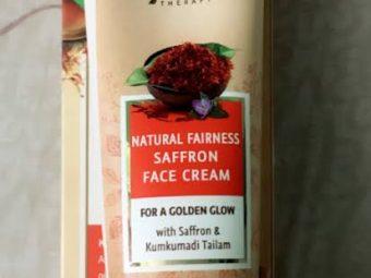 Lever Ayush Natural Fairness Saffron Face Cream pic 3-For fairness.-By simmi_haswani