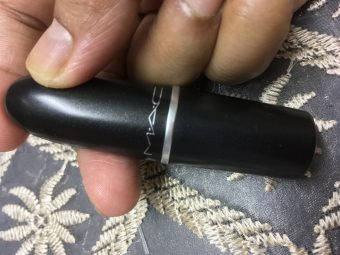 MAC Matte Lipstick pic 1-Taupe lovely colour-By sayanikarmakar