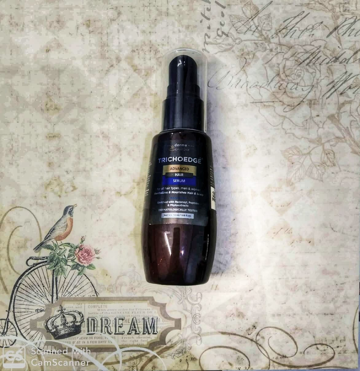 Derma Essentia Trichoedge Advanced Hair Serum -Must have Hair Serum-By richapanditt