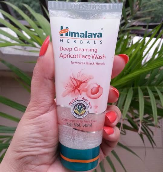 Himalaya Herbals Deep Cleansing Apricot Face Wash-Good for skin glow-By h355