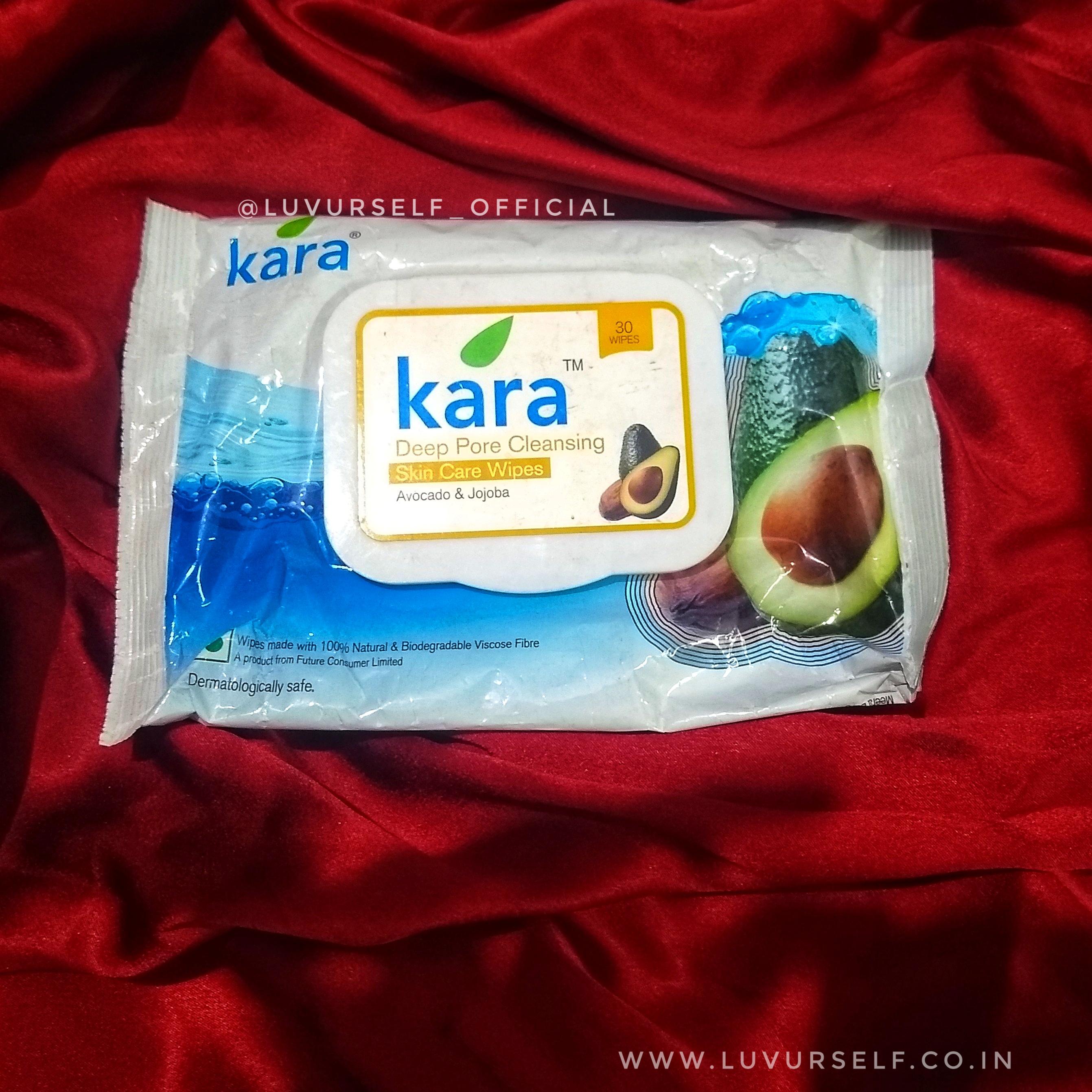 Kara Face Wipes-Moisturizing face wipes-By ariba