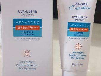 Derma Essentia Sunscreen Gel -Recommended-By rukshar23
