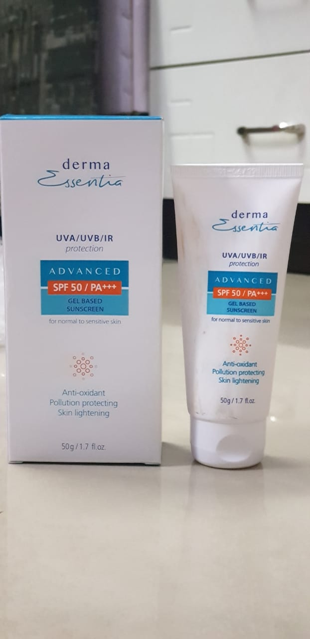 Derma Essentia Sunscreen Gel-Recommended-By rukshar23