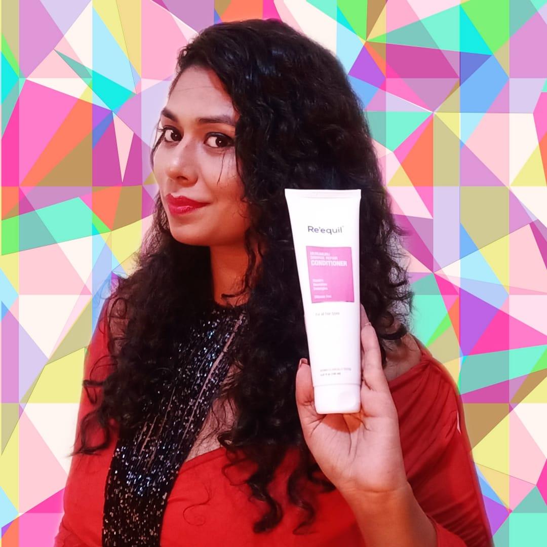 Re'equil Murumuru Damage Repair Conditioner-Miracle for my curls-By radhika_bhatnagar-1