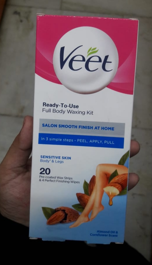 Veet Cold Wax Strips – Instant Waxing Kit-Good one-By Nasreen-1