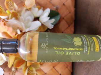 Rey Naturals Pure Cold Pressed Therapeutic Grade Olive Oil For Hair And Skin pic 1-A great carrier oil both for hair, skin and nails-By taniasuri