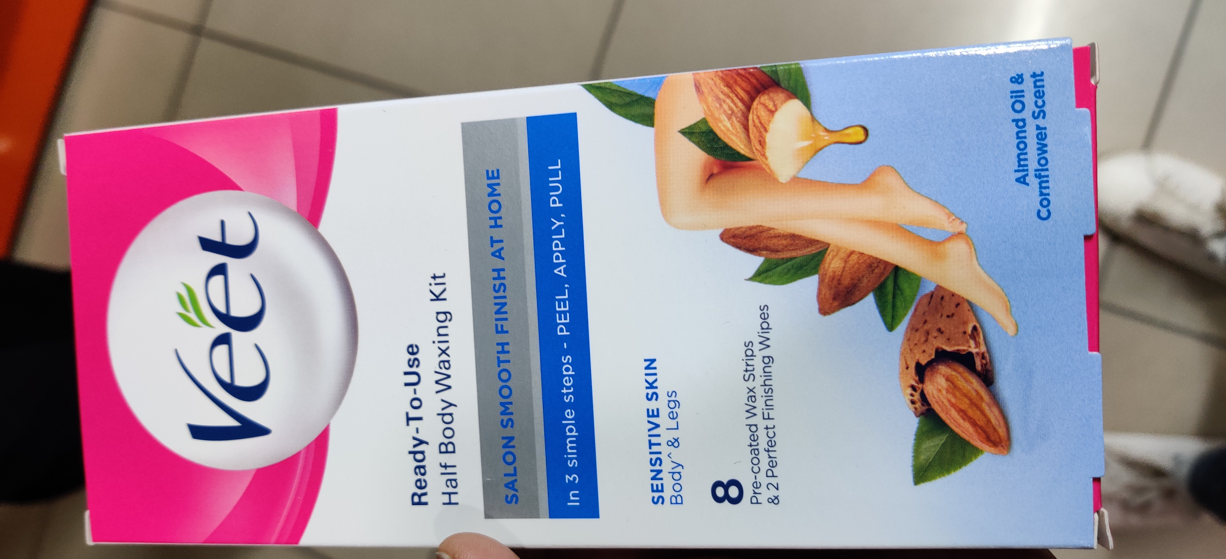 Veet Wax Strips-On the Go Choice !!-By qwerty12345