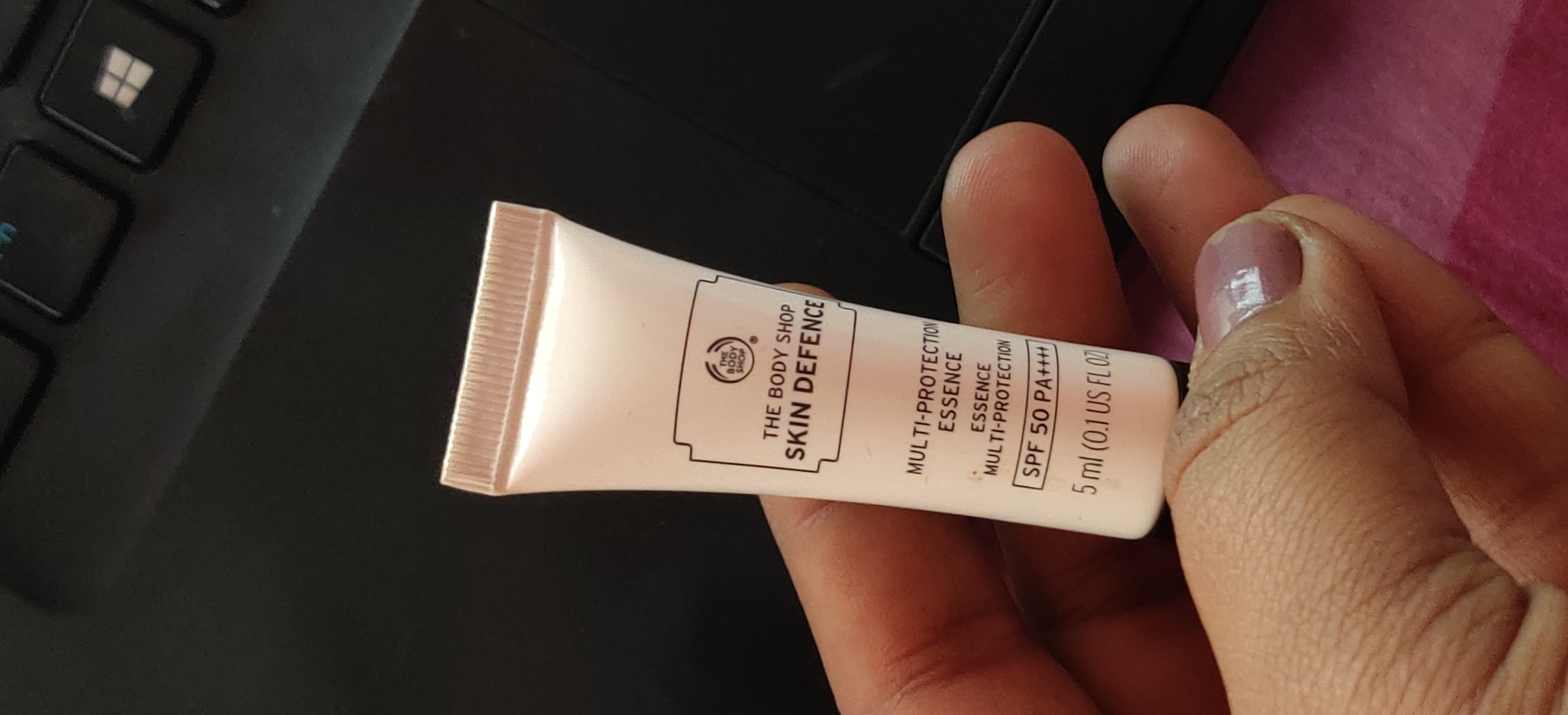 The Body Shop Skin Defence Multi Protection Essence SPF 50 PA+++-Best SPF!!-By qwerty12345