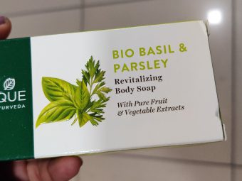 Biotique Bio Basil And Parsley Revitalizing Body Soap -Nourishing Soap!!-By qwerty12345