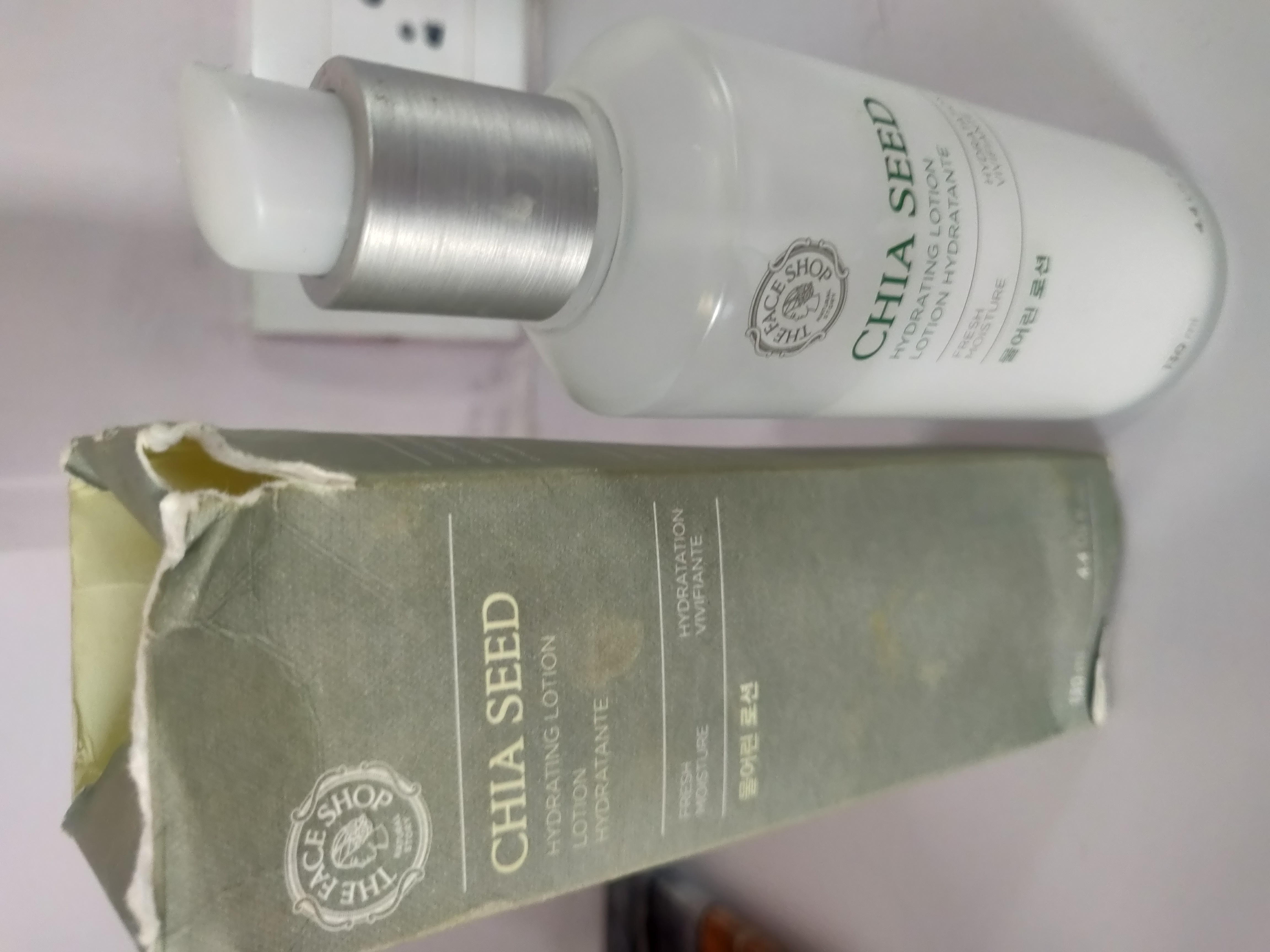 The Face Shop Chia Seed Hydrating Lotion-My daily pump of moisture-By apekshap