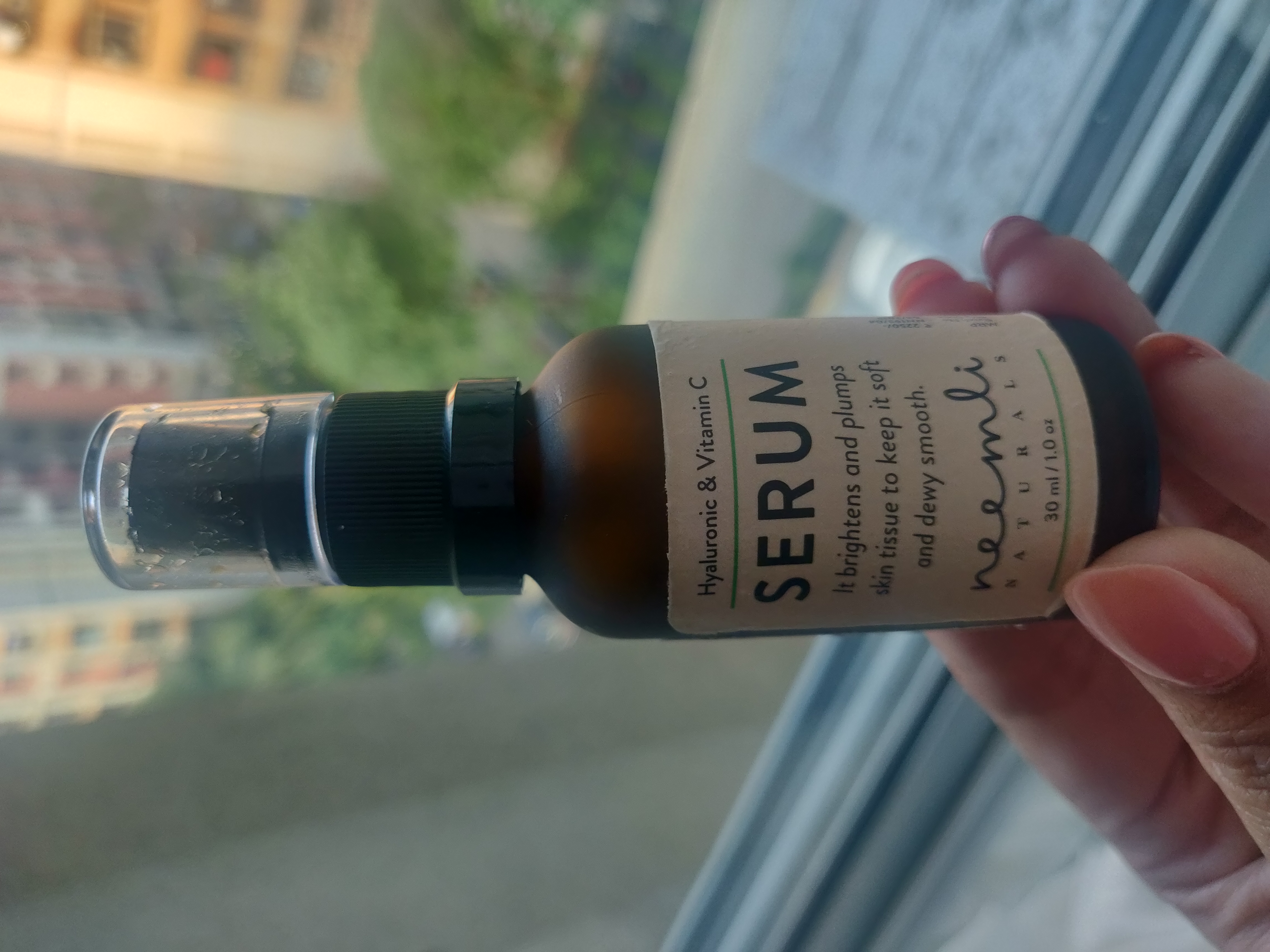 Neemli Naturals Hyaluronic & Vitamin C Serum -Dewy smooth plump skin with This serum-By apekshap